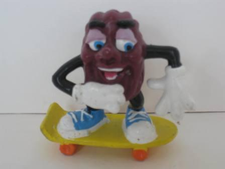 1987 Hardees - Skateboarder - California Raisins