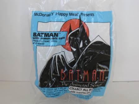 1993 McDonalds - Batman with Removable Cape - Batman (SEALED)