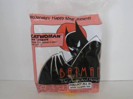 1993 McDonalds - Catwoman and Leopard - Batman (SEALED)