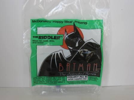 1993 McDonalds - The Riddler - Batman (SEALED)
