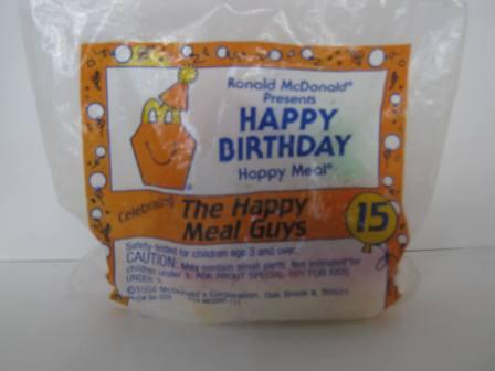 1994 McDonalds - #15 The Happy Meal Guys - Happy Birthday Toy