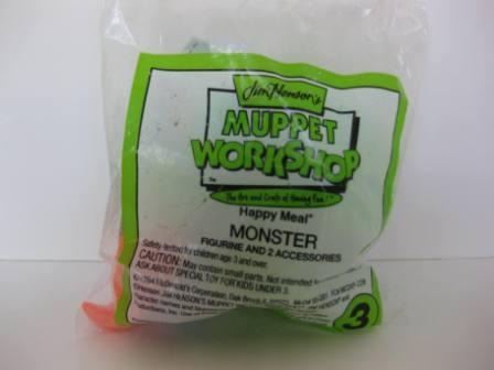 1994 McDonalds - #3 Monster - Jim Henson's Muppet Workshop