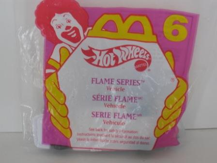 1995 McDonalds - #6 Flame Series - Hot Wheels