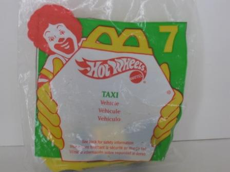 1997 McDonalds - #7 Taxi - Hot Wheels