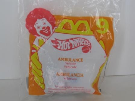 1997 McDonalds - #9 Ambulance - Hot Wheels
