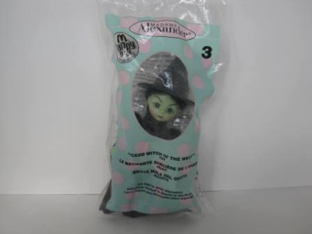 2007 McDonalds - #3 Wicked Witch of the West - Madame Alexander