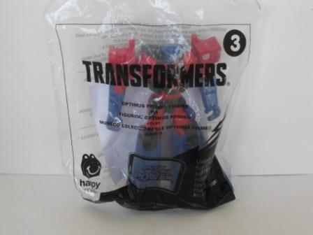 2016 McDonalds - #3 Optimus Prime Figure - Transformers