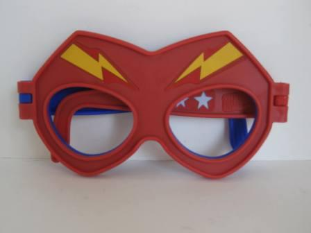 2018 McDonalds - #7 The Flash/Stargirl Mask - Justice League Act