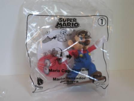 2018 McDonalds - #1 Mario Cap Thrower - Super Mario