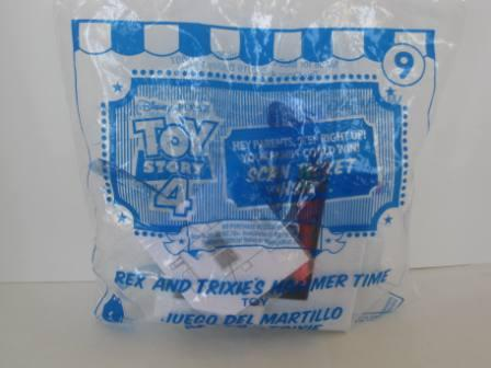 2019 McDonalds - #9 - Rex and Trixie\'s Hammer Time - Toy Story 4