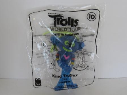 2020 McDonalds - #10 King Trollex - Trolls World Tour