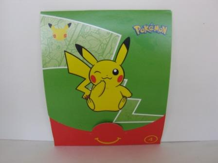 2021 McDonalds - #4 Trading Card Set - 25th Anniversary Pokemon