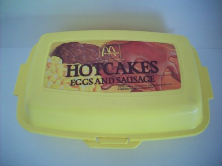 McDonalds Hotcakes Eggs & Sausage (1988) - Toy