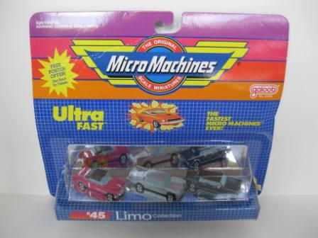#45 Limo Collection - Micro Machines (1989) - Toy