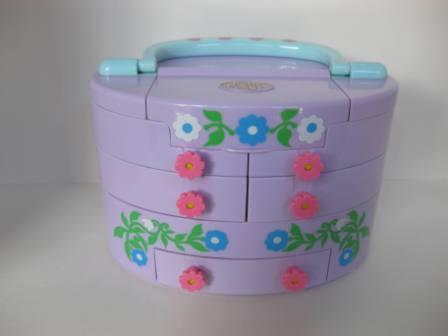 Pullout Playhouse Jewelry Box - Polly Pocket - Toy