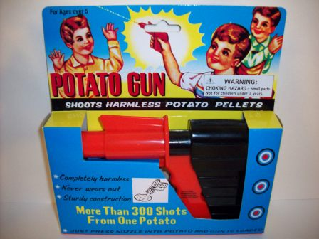 Potato Gun (NEW) - Toy
