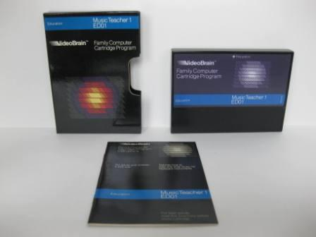 Music Teacher 1 ED01 (CIB) - VideoBrain Game