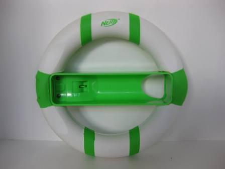 Wii NERF Steering Wheel (Green/White) - Wii Accessory