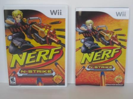 Nerf N-Strike (CASE & MANUAL ONLY) - Wii
