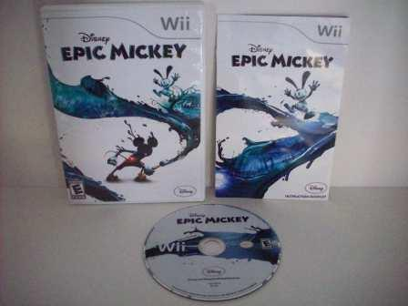 Disney Epic Mickey - Wii Game