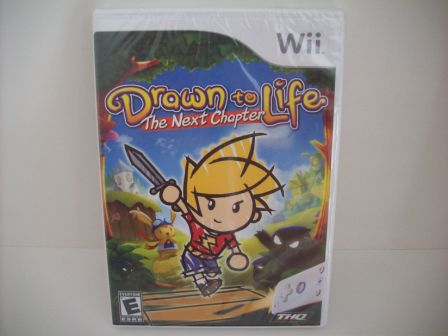Drawn to Life: The Next Chapter (SEALED) - Wii Game