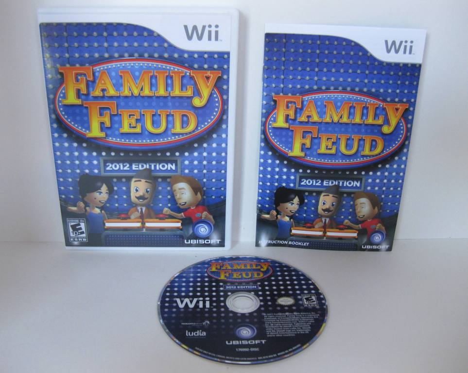 Family Feud 2012 Edition - Wii Game