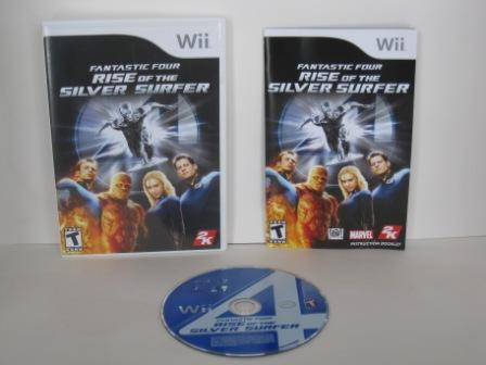 Fantastic Four: Rise of the Silver Surfer - Wii Game