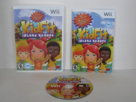 Kid Fit: Island Resort - Wii Game