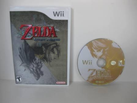 Legend of Zelda, The: Twilight Princess - Wii Game