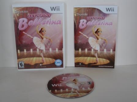 Lets Play Ballerina - Wii Game