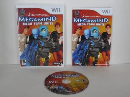 Megamind: Mega Team Unite - Wii Game