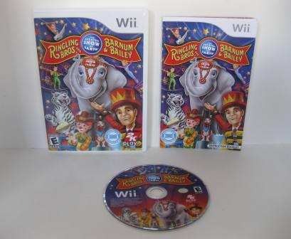 Ringling Bros. and Barnum & Bailey Circus - Wii Game
