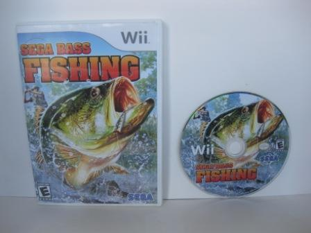 Sega Bass Fishing - Wii Game