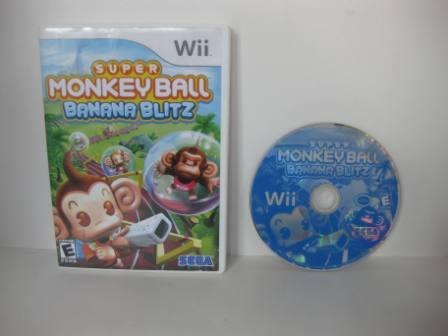 Super Monkey Ball: Banana Blitz - Wii Game
