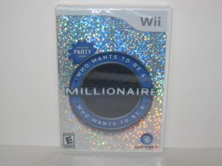 Who Wants To Be A Millionaire (SEALED) - Wii Game