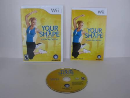 Your Shape: Featuring Jenny McCarthy - Wii Game