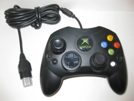 Official Slim Controller S X08-69873 (Black) - Xbox Accessory