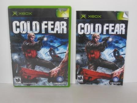 Cold Fear (CASE & MANUAL ONLY) - Xbox