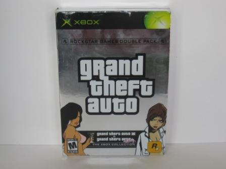 Grand Theft Auto Double Pack (CASE & MANUAL ONLY) - Xbox