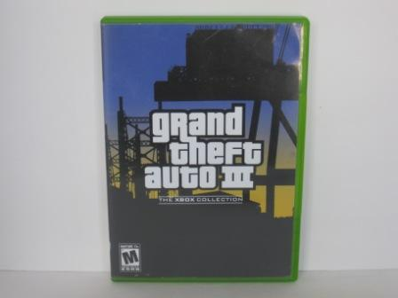 Grand Theft Auto III (CASE ONLY) - Xbox