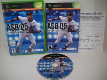 All-Star Baseball 2005 - Xbox Game