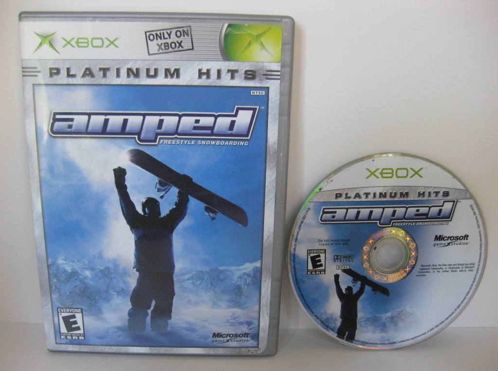 Amped Freestyle Snowboarding - Xbox Game