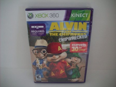 Alvin and the Chipmunks: Chipwrecked (SEALED) - Xbox 360 Game