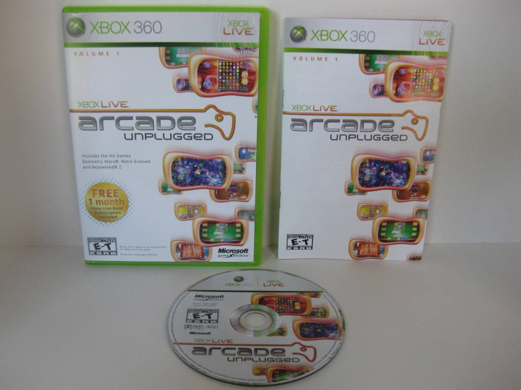Arcade Unplugged Volume 1 - Xbox 360 Game