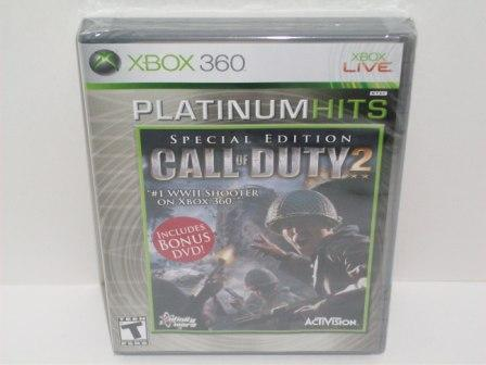 Call of Duty 2 (SEALED) - Xbox 360 Game