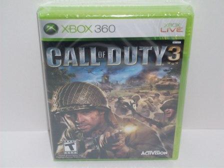 Call of Duty 3 (SEALED) - Xbox 360 Game