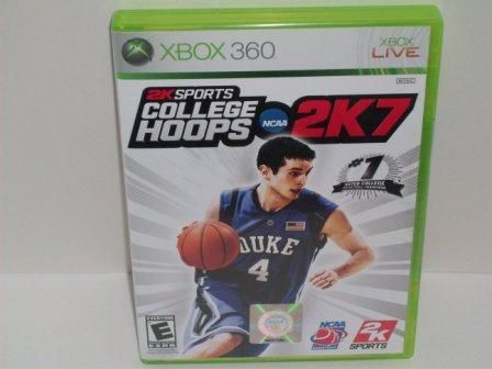 College Hoops 2K7 (SEALED) - Xbox 360 Game