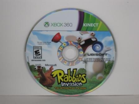 Kinect Rabbids Invasion (DISC ONLY) - Xbox 360 Game