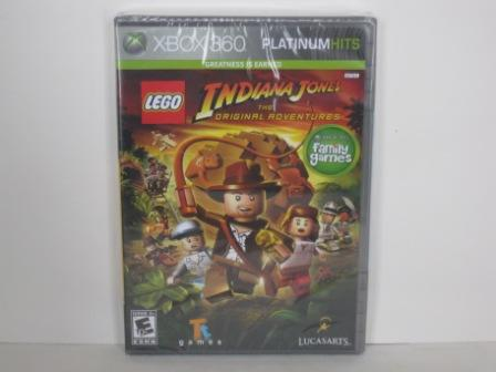 LEGO Indiana Jones: Original Adventures (SEALED) - Xbox 360 Game